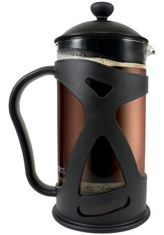 """SIMPLY THE PUREST WAY ~ extract & brew any Loose Leaf Tea or Coffee Bean's essential oils into a large 34 oz ( 8 Cup   1 Liter ) glass pitcher for a Smooth Rich Gourmet Taste with Absolutely No Grounds 100% Guaranteed, Best combined with a programmable temperature control cordless electric kettle & conical burr mill grinder ★See """"SPECIAL OFFERS"""" Below for the 75% Off Coffee Grinder ★FLASH SALE★"""
