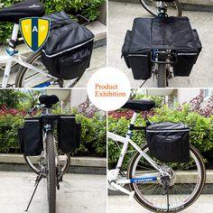 Barato New Mountain Road MTB da bicicleta caso bicicleta de volta saco Panniers portador traseiro do assento Pack Saddle Bolsa para ciclismo cremalheira tronco 10L Bolsa, Compro Qualidade Bicycle Bags & Panniers diretamente de fornecedores da China: