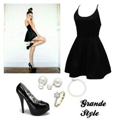 Designer Clothes, Shoes & Bags for Women Ariana Grande Outfits, Shoe Bag, Stuff To Buy, Shopping, Collection, Black, Dresses, Design, Women