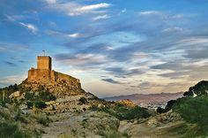 Foto panorámica del Castillo de #Lorca, Murcia, Spain