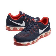 579468663637 2016 Nike Air Max Tailwind 8 Print Sneakers Dark Blue Red Mens Running Shoes  805941-008
