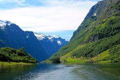 come non rimanere incantati dalla bellezza di questo fiordo #viaggioinnorvegia