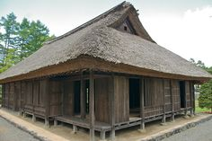 Traditional Japanese House by davegolden, via Flickr