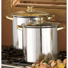 2-Piece Stock Pot Set in Holiday 2012 from Ginnys on shop.CatalogSpree.com, my personal digital mall.
