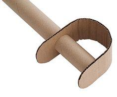 cardboard crafts: A cool sword to slay dragons!