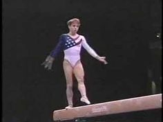 there is a reason keri strug isn't remembered for her balance beam! pinning for one particular move out of a planch.