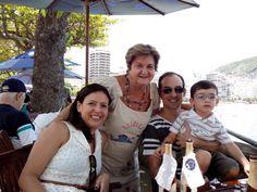 No Forte de N S Copacabana, Confeitaria Colombo com Gisela, Cesinha e Marquinhos