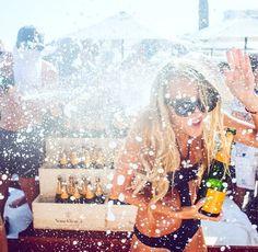 pop champagne!