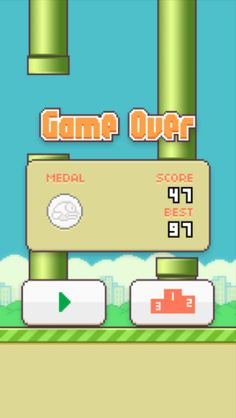 Have trouble getting at least a 100 on flappy birds.Well I will help u! Start the app press play and try thinking of somthing else instead of try to get a high score like think of wat u going to do for ur b-day think of wat are u going to eat for dinner.U will then get hypnotized by wat u are thinking and u won't notice u are getting an high score!*u have to be doing this as u are play*......This really works I tried it and got 97 as my high score