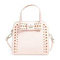 Davies mews by Kate Spade New York. Gleaming gems embellish a curvy, compact little crossbody crafted from finely crosshatched leathe...