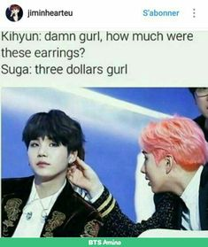 These three dollar memes crack me up every time #MonstaX #BTS