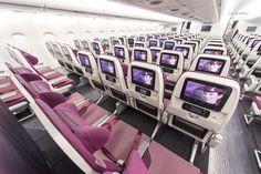 Qatar Airways A380 economy class