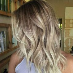 Are you familiar with balayage hair colors? Do you know balayage is french hair . Are you familiar with balayage hair colors? Do you know balayage is french hair coloring technique which means sweep Blond Ombre, Brown Blonde Hair, Blonde Roots, Dark Blonde, Dark Hair, Short Blonde, Blonde Honey, Ombre Bob, Short Ombre