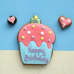 Cookie Card : Personalised Candle Cupcake