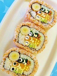 アート巻き寿司 - Google 検索