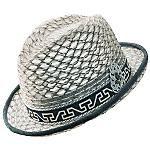 """The Collective"" Stingy Brim Fedora by Carlos Santana Hats ~ http://www.menstyleusa.com/hats/Carlos-Santana.shtml"