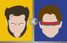 X-Men Marvel Heroes by Alejandro Rojas 02