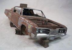1967 Dodge Polara 2dr. ht. Pro Built Weathered Barn Find Custom 1/25 Resin  | Toys & Hobbies, Models & Kits, Automotive | eBay!