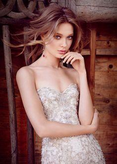 Lazaro Bridal style 3553