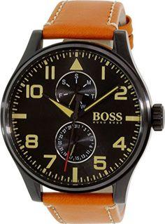 Hugo Boss Men's Aeroliner 1513082 Brown Leather Quartz Watch Hugo Boss http://www.amazon.ca/dp/B00O8PMOQ6/ref=cm_sw_r_pi_dp_HBtfwb04VR23C