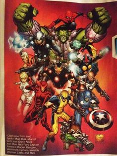 Relaunch Marvel après #AvX... mouais...