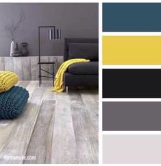 Living room color schemes ideas will help you to add harmonious shades to your home which give variety and feelings of calm, You Need to Try This Year! Kitchen Colour Schemes, Living Room Color Schemes, Kitchen Colors, Kitchen Yellow, Kitchen Grey, Kitchen Ideas, Room Kitchen, Kitchen Decor, Apartment Color Schemes