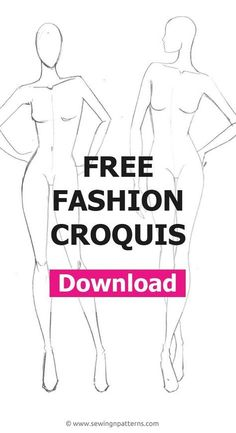 Fashion figure templates: The ultimate list for your next fashion project - Sketch Templates - Ideas of Sketch Templates - fashion designer sketches Fashion Design Sketchbook, Fashion Design Portfolio, Fashion Design Drawings, Fashion Sketches, Fashion Illustrations, Fashion Figure Drawing, Fashion Model Drawing, Fashion Model Poses, Female Fashion