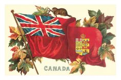 size: Art Print: Old Canadian Flag Art Print : Old Canadian Flag, Canadian Red Ensign, Canadian Things, Canadian History, Quilts Canada, Red And White Flag, Pop Art, Historia Universal, Flag Photo