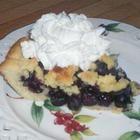 Photo de recette : La tarte aux bleuets de grand-maman