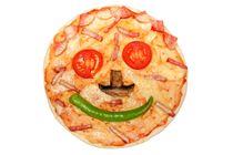 fun pizza faces