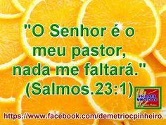 O Senhor é o Meu Pastor!