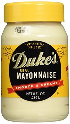 Duke's Real Mayonnaise - Two 8 Fl Oz Jars >>> Read review  at this Dinner recipes board