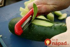 Ak máte radi domáce uhorky, po tomto ich budete milovať: Ani tá najtenšia šupka už neskončí v koši, v záhrade je neoceniteľná! Mozzarella, Cucumber, Zucchini, Ale, Detox, Vegetables, Food, Ale Beer, Essen