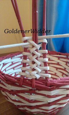 Pileflet Piercing i piercing my nose Inkle Weaving, Paper Weaving, Weaving Art, Willow Weaving, Bamboo Weaving, Newspaper Basket, Newspaper Crafts, Basket Weaving Patterns, Diy Paper