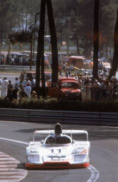 Jacky Ickx in the Porsche 936/81 at Le Mans, 1981.... at Legends of Racing