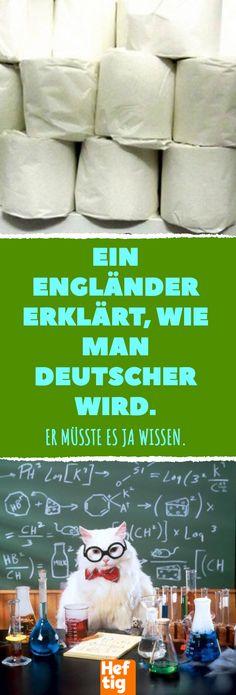 An Englishman explains how to become German. – home acssesories