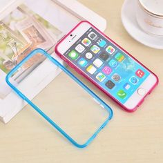 Transparent Border Case for Iphone 6 Colorful Colors Clear Case  http://www.oz3ds.net/product.php?id_product=375
