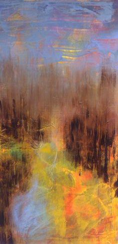 "Saatchi Online Artist: gordon sellen; Acrylic, 2012, Painting ""Devils Glen"""
