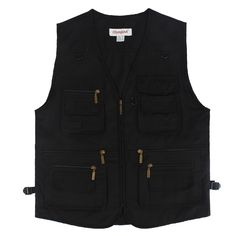 Men Vest Outdoors Sleeveless Jacket Vest With Many Pockets V-Neck Waistcoat  Travel Coat Fishing Vest Fashion Fishing Vest, Sleeveless Jacket, Aliexpress, Vest Jacket, V Neck, Mens Fashion, Ph, Outdoors, Pockets