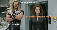"Thor's ""He's Adopted"" Joke In THE AVENGERS Comes Under Fire"