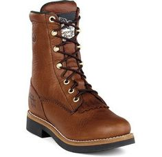 G3114 Georgia Women's SPR Work Lacers - Walnut *** You can find out more details at the link of the image.