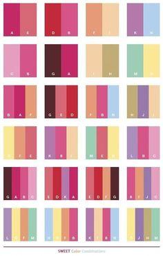 Color Schemes Sweet color schemes, color combinations, color palettes for print . Color Schemes For The Home, Colour Schemes, Color Trends, Color Combos, Color Patterns, Best Colour Combinations, Beach Color Schemes, Palette Design, Colour Pallette