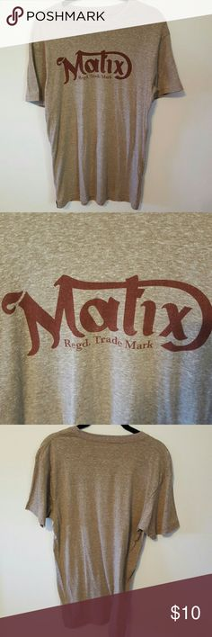 Mens Matix Short Sleeve Tee Shirt This item is Available!  Condition: Good  My Condition Key: New: Never Worn & No Flaws Like New: Hardly Worn & No Flaws Good: Worn Multiple Times & No Flaws Fair: Worn Multiple Times & Has a Flaw Bad: I Don't Sell Anything in Bad Condition!  Please Make Offers I Do Not Do Trades I Can Hold I Will Model if requested Ask if you Need Measurments I Ship Same Day or Next Day I Send all items in Priorty Mail Boxes Matix Clothing Company Shirts Tees - Short Sleeve