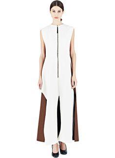 Marni Long Bonded Sleeveless Dress