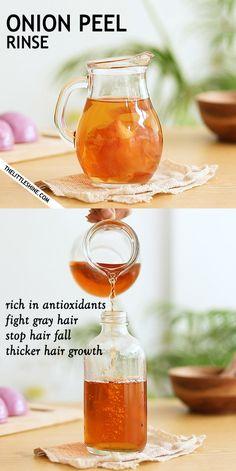 Natural Hair Recipes, Natural Hair Care, Natural Hair Styles, Onion For Hair, Kajal, Lotion, Diy Hair Care, Healthy Hair Growth, Hair Growth Oil