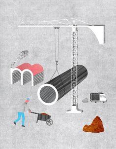 """Vincent Godeau - LE MOOK (numéro """"Apprendre et transmettre"""") / http://vincentgodeau.fr #illustration #book #education"""