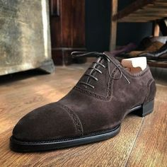 Handmade men brown suede shoes, dress formal shoes for men, men leather shoes Upper: High Quality Suede Inner: soft leather Sole: Leather Gender: Male Heel: Leather Style: Dress Shoes, Lace up Color: Brown Totally Hand stitched Manuf Brown Formal Shoes, Formal Shoes For Men, Suede Leather Shoes, Leather Men, Soft Leather, Cowhide Leather, Patent Leather, Lace Up Shoes, Dress Shoes