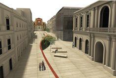 Il Filo D'Arianna - Restyling Della La Grande Piazza Di Caltanissetta - Picture gallery