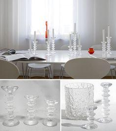 Það er aldrei hægt að vera með of mikið Ittala Secret Walls, Candle Sticks, Nordic Design, Marimekko, Glass Design, Soft Furnishings, Dollar Tree, Decorating Your Home, Clear Glass