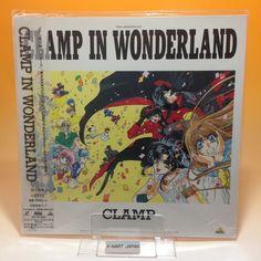 Clamp in Wonderland (1994) BEAL-931 LaserDisc LD Laser Disc NTSC OBI Japan AA006